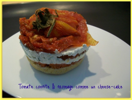 Tomate, fromage, entrée froide