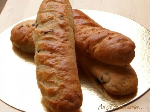Petit-déjeuner, baguette viennoise