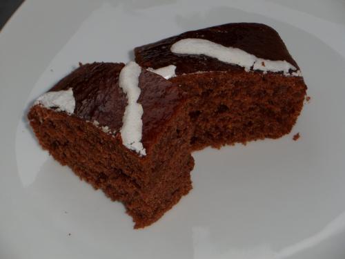 Gâteau, cacao, épices