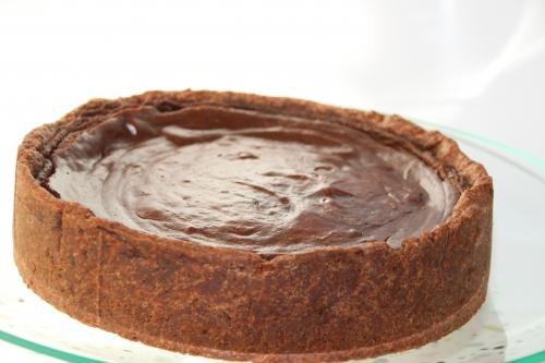 Tarte sucrée, chocolat, cacao