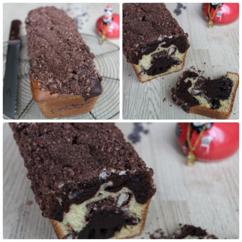 Goûter, cake, chocolat