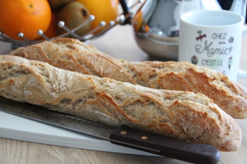 baguette, pain maison