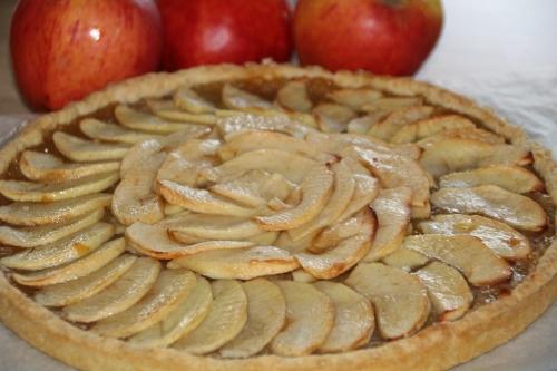 Tarte sucrée, pommes