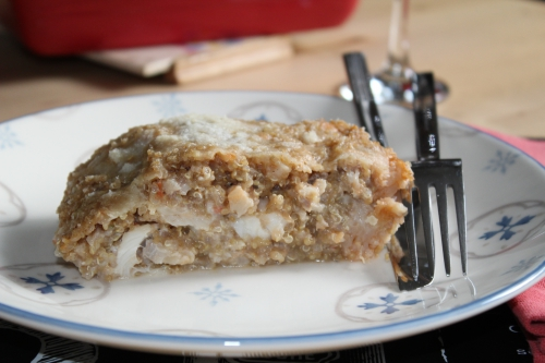 Quinoa, cabillaud, chou-fleur