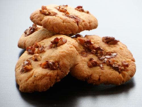 Biscuits, noix, noisettes