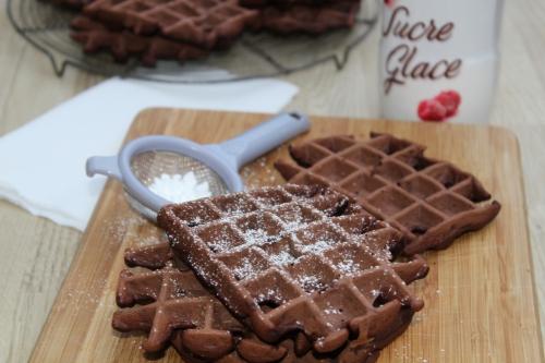 Gaufre, cacao