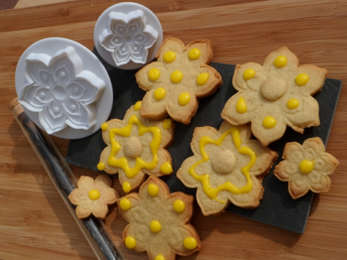 Biscuits sucrés, vanille