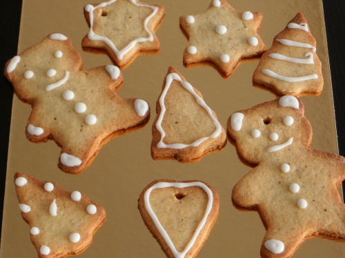 Biscuits sucrés, Noël