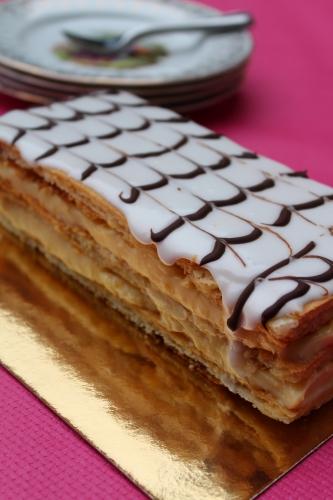 dessert, crème pâtissière