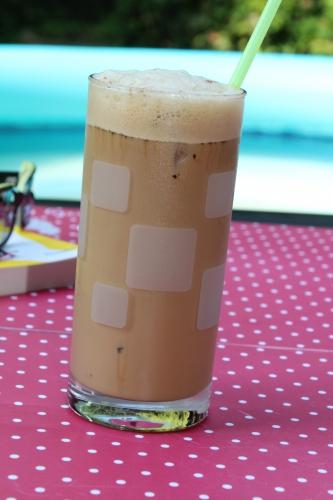 café, glaçon