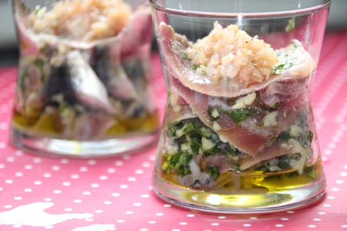 sardine, oignon