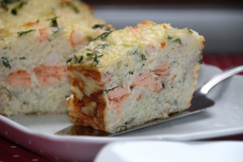 saumon frais, crevette sauvage, ris basmati